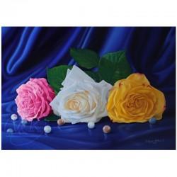 Des perles et des roses