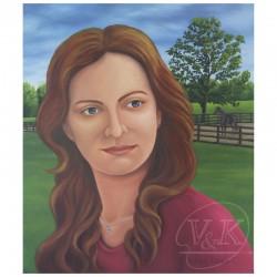 Portrait en plein air